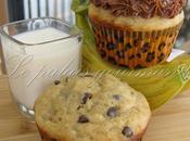 Muffins bananes, glaçage choco-arachide