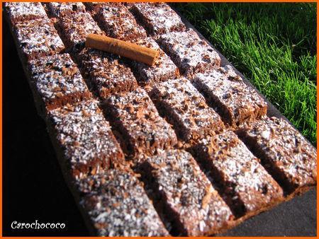 Gateau tablette de chocolat paperblog - Tablette recette cuisine ...