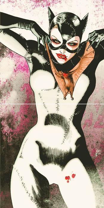 Les plus beaux dessins de super h ro nes lire - Dessin catwoman ...