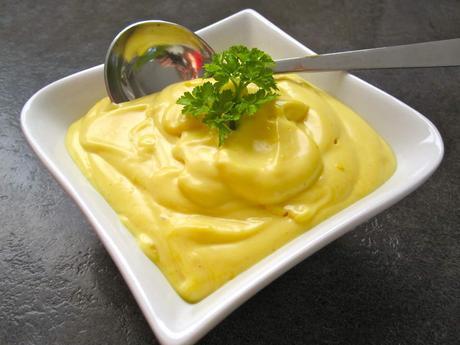 Mayonnaise légère au thermomix (ou pas)