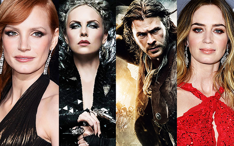 MOVIE | The Huntsman : Jessica Chastain et Emily Blunt rejoignent Chris Hemsworth et Charlize Theron !