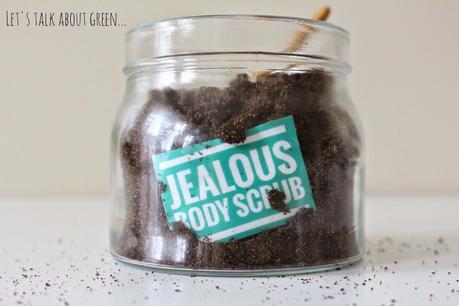 It's not just Body Scrub : It's Jealous body Scrub!