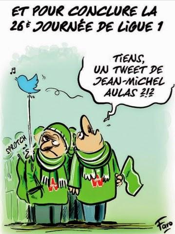 Le petit président de Lyon a tweeté