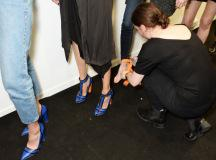 Malone Souliers Collection With David Koma - London Fashion Week