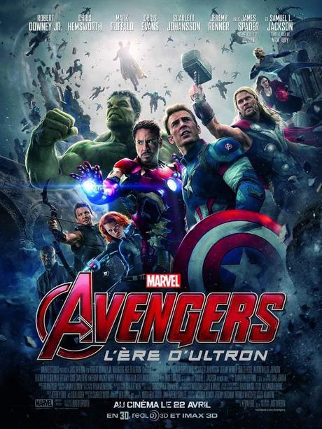 AVENGERS : L'ERE D'ULTRON - Les plus grands super-héros de tous les temps réunis le 29 Avril 2015 au Cinéma #AvengersUltron