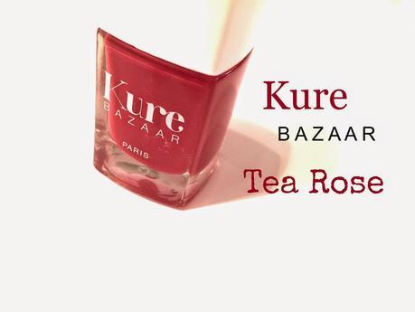 Le vernis Tea Rose de Kure Bazaar