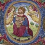 Les anges - Psalterium ad usum Fratrum Minorum