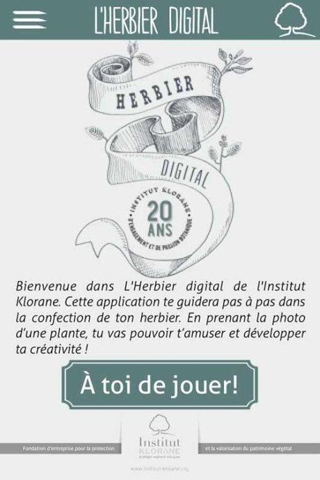 L'herbier digital de l'Institut Klorane - Charonbelli's blog lifestyle
