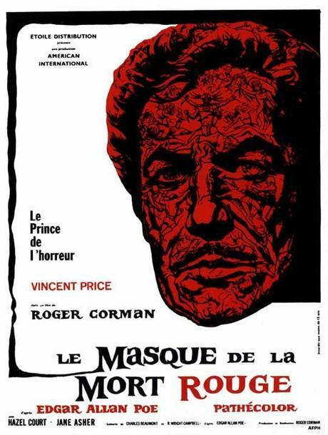 Masque de la mort rouge