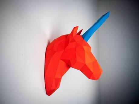 Projet Papertrophy : quand les animaux rencontrent le design polygonal