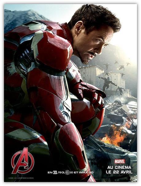 Avengers l'ère d'Ultron – L'affiche Iron Man dévoilée !
