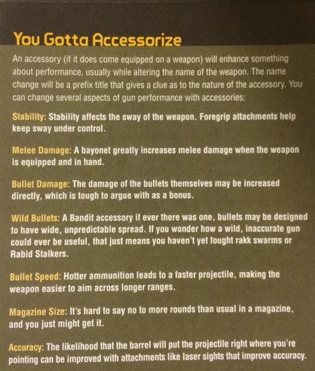 Accessoires armes BL2