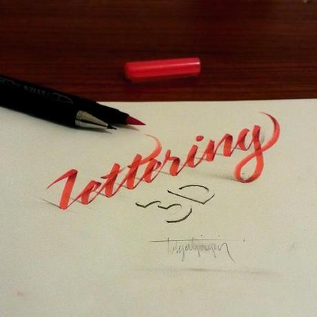 3D-Lettering-with-Parallelpen-Pencil7