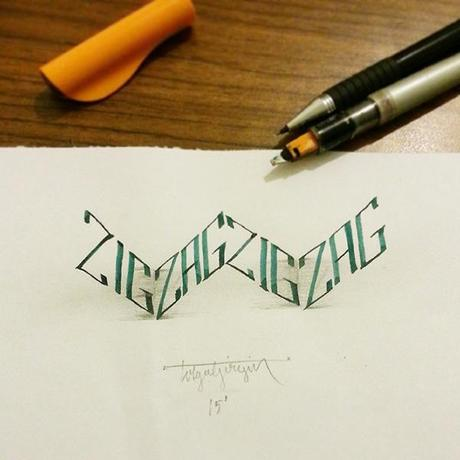 3D-Lettering-with-Parallelpen-Pencil11