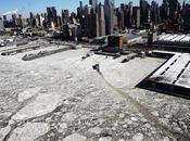 Quand New-York ressemble décor film jour d'après Titanic