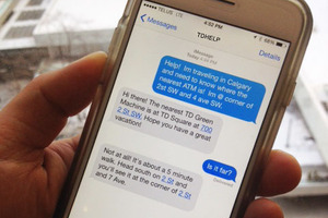 Contact par SMS