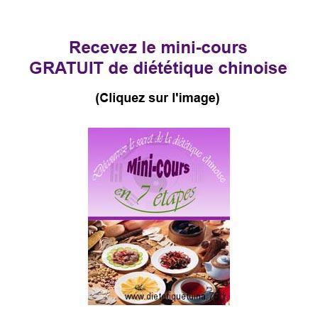 mini cours de diététique chinoise