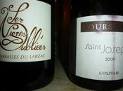 Terrasses Larzac, Vignes Oubliées 2013 Coursodon 2009, Saint Joseph