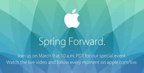 L'AppleWatch sera inaugurée le 9mars