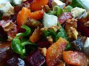 Salade d'hiver pleine soleil/Finding perfect winter salad