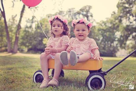 Photographe bébé famille lifestyle St Germain en Laye – Maïssa et Janna
