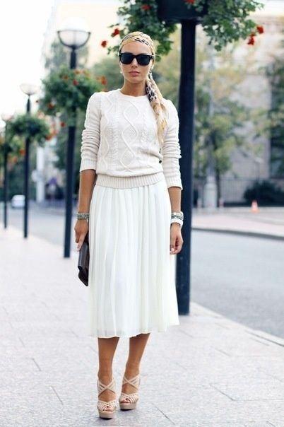 Tendances : jupe longue