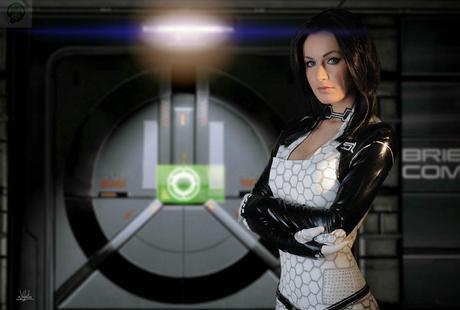 normandy by hannuki d75x0ii Cosplay   Mass Effect   Miranda #60  mass effect Cosplay