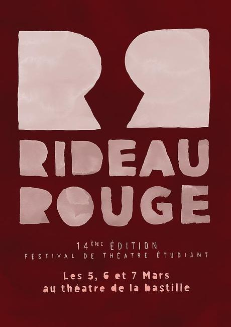 Théâtre-Festival Rideau Rouge: 14e édition le 5, 6 et 7 mars !