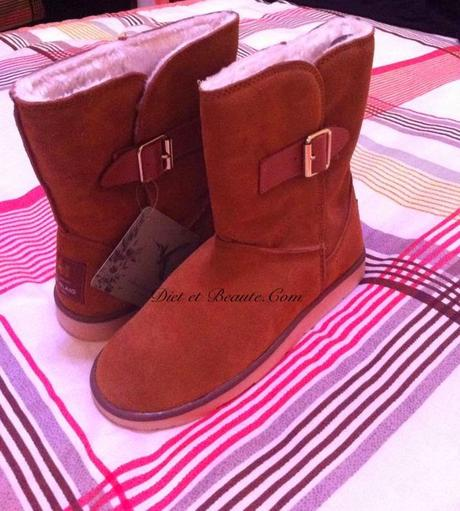 Mes Bottes Anti-Froid River Island : J'adore