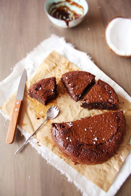 Le trèèès fondant au chocolat et Noix de coco ❀ (Lactose free)