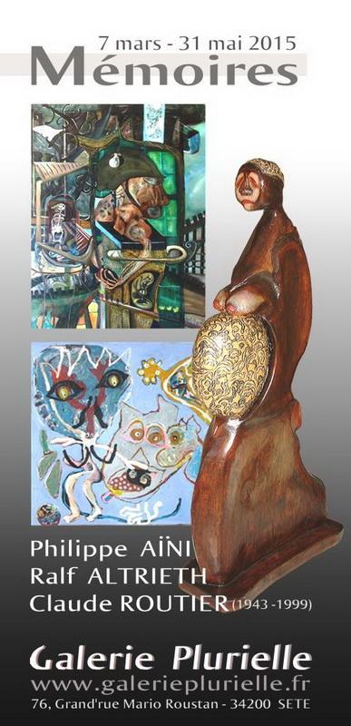 Exposition MÉMOIRES à la Galerie Plurielle