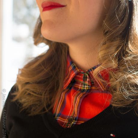#mode: rouge tartan