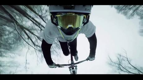 Winter Ride in Slowmotion