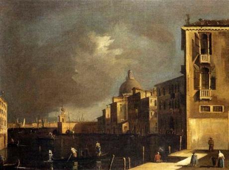Francesco Tironi - Le Grand Canal et l'Eglise de la Salute