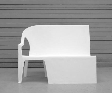 BENCH CHAIR PAR THOMAS SCHNUR - 2011
