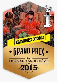 Akira Grand Prix du Festival d'Angoulême 2015