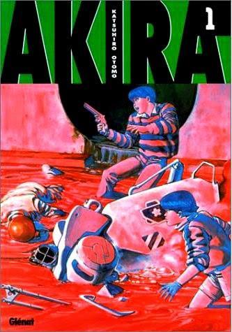 Akira Tome 1 aux éditions Glénat