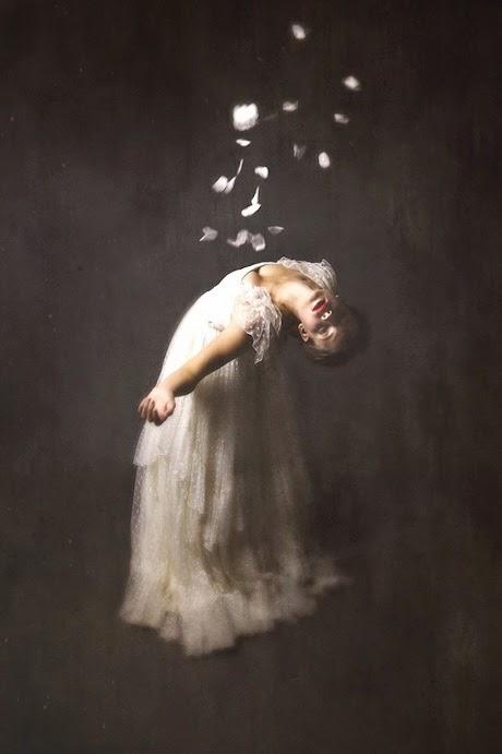 photo josephine cardin photographie danseuse mélancolique autoportrait