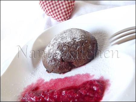 moelleux chocolat coeur framboises   (2)