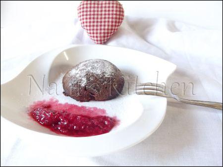 moelleux chocolat coeur framboises   (1)