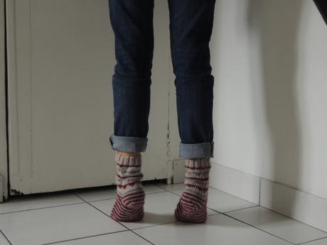 chaussettes derrière