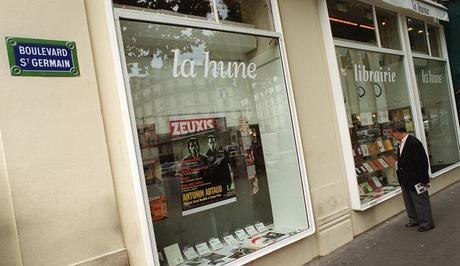 Librairie La Hune sur le Boulevard Saint-Germain à Paris