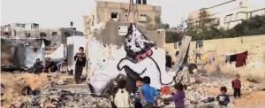 GAZA: Les bombes de peinture plutôt que les bombes destructrices de Tsahal