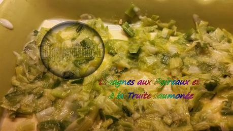 Lasagnes aux poireaux et truite saumonée Thermomix 3