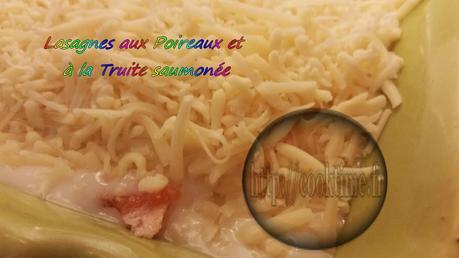 Lasagnes aux poireaux et truite saumonée Thermomix 5