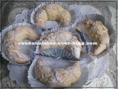 Tcharek El Ariane (patisserie algérienne) recette2 تشاراك العريان