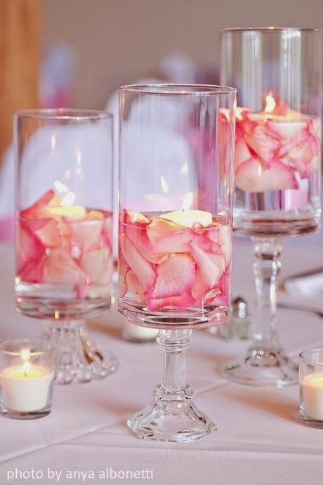 Bougies au fil de l'eau