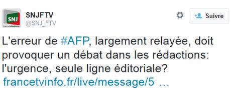 l'information en France est à l'image d'une célèbre « maison de maçon »… Vite faite, mal faite.