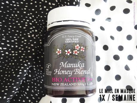 masque au miel de manuka