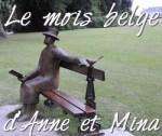 Mois belge Logo Folon sculpture